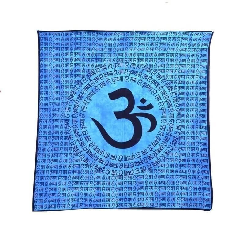 Falidísz Indiából 3 színben hare rama hare krishna mintával
