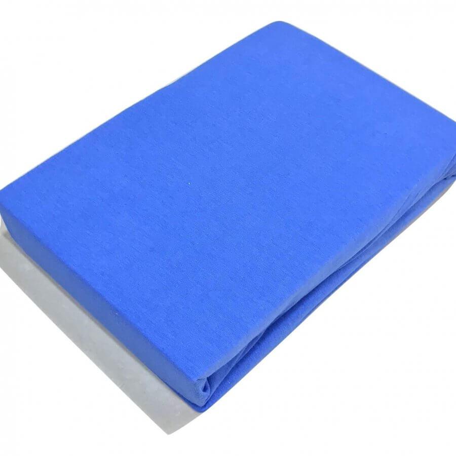 Jersey Gumis Lepedő kék