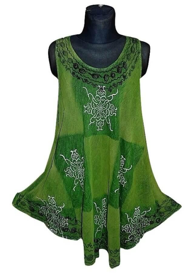 Rövid ruha Indiából több színben 2103