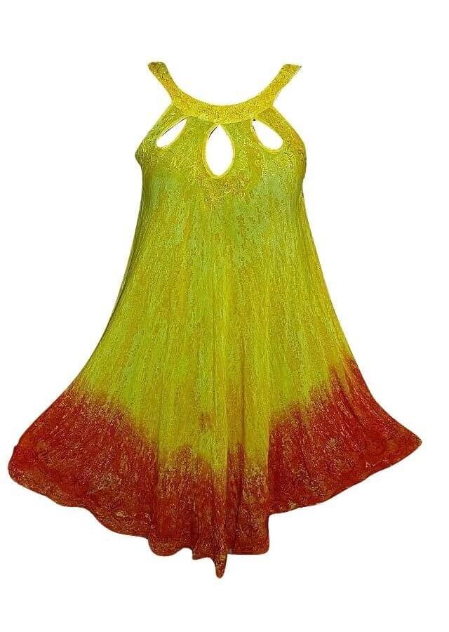 Rövid ruha Indiából több színben 2110