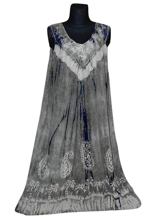 Nagy méretű hosszú ruha Indiából 2205