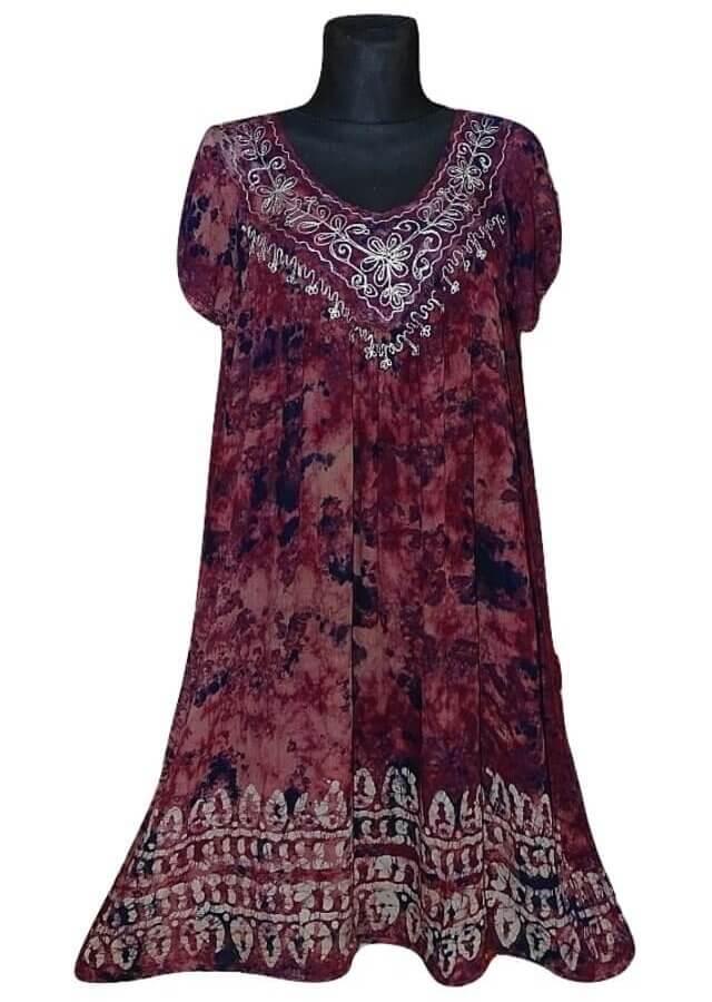 Nagy méretű rövid ruha Indiából 2208