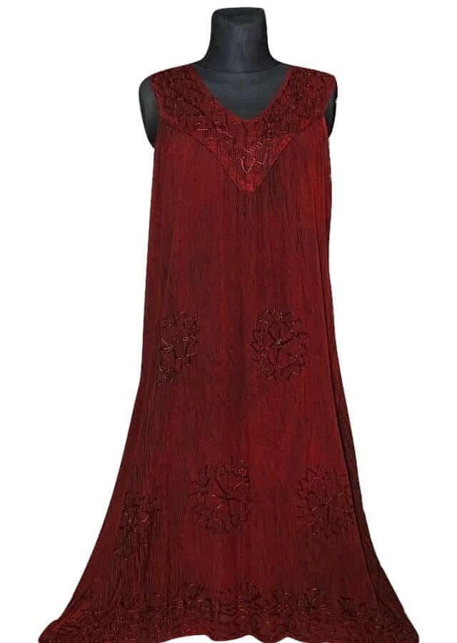 Nagy méretű hosszú ruha Indiából 2504