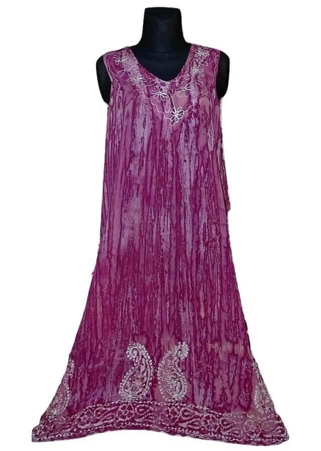 Nagy méretű hosszú ruha Indiából 2508