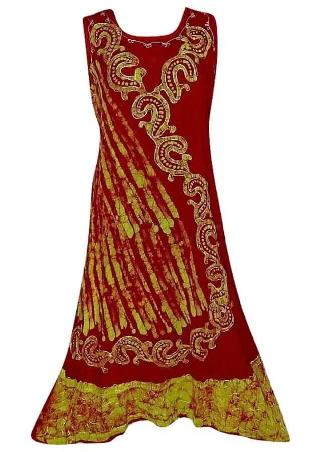 Nagy méretű hosszú ruha Indiából 2509
