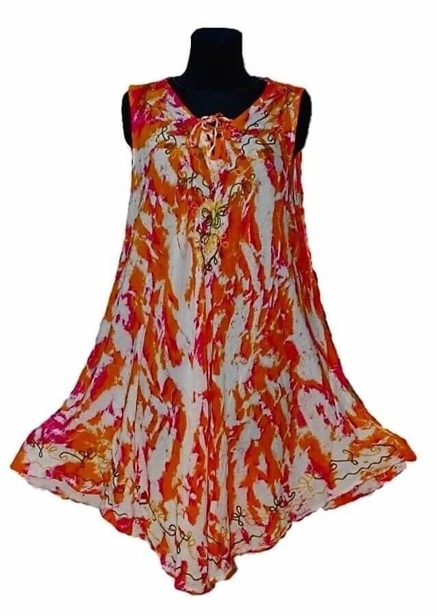 Rövid ruha Indiából több színben 13