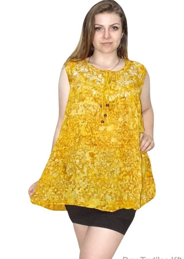 Tunika-Indiából-ujjatlan-nagy-méret-2405-sárga.jpg