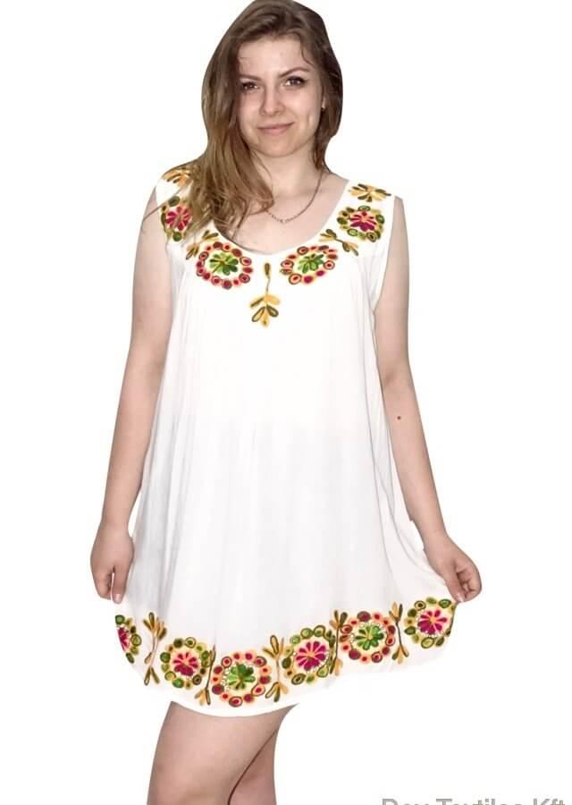 Tunika-Indiából-ujjatlan-nagy-méret-fehér-színben-hímzett-minta.jpg