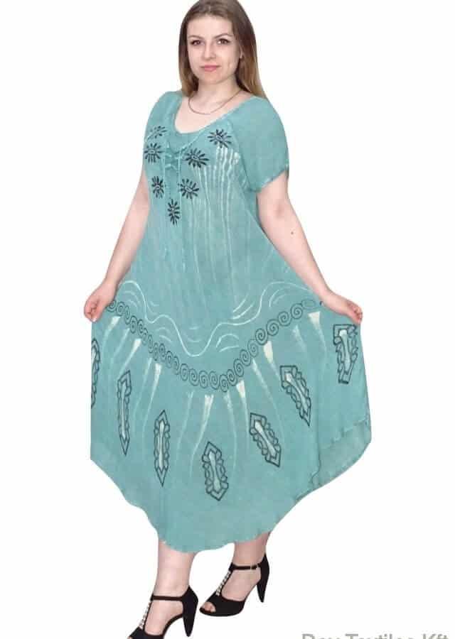 indiai hosszú ruha keleti stílusú mintával