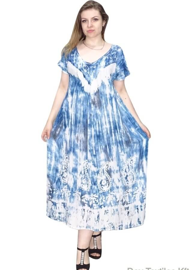 világoskék hosszú ruha