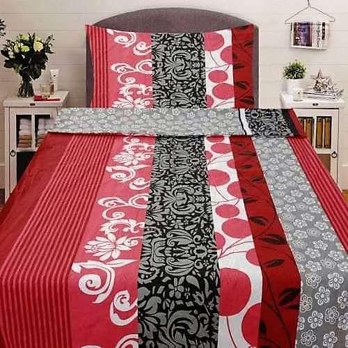 pamut 2 részes ágyneműhuzat érdekes mintával